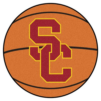 NCAA University of Southern California Basketball Mat