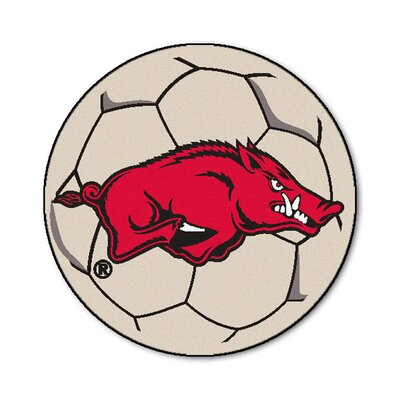NCAA University of Arkansas Soccer Ball