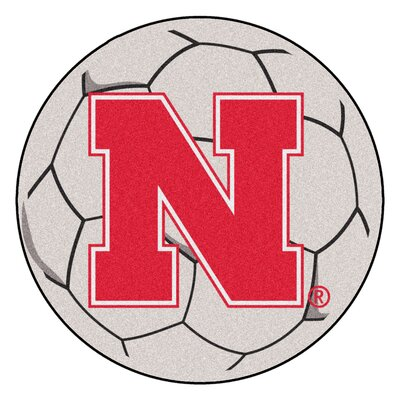 NCAA University of Nebraska Soccer Ball