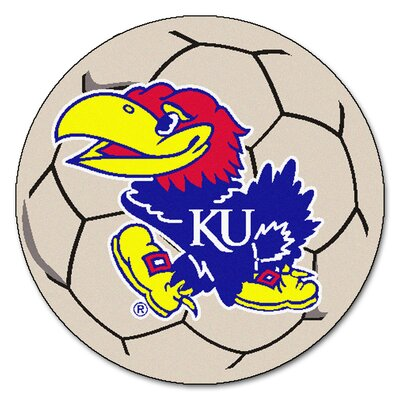 NCAA University of Kansas Soccer Ball