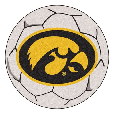 NCAA University of Iowa Soccer Ball