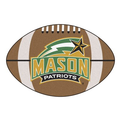 NCAA George Mason University Football Mat