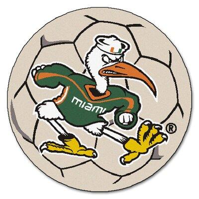 NCAA University of Miami Soccer Ball