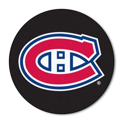 NHL Puck Doormat NHL: Montreal Canadiens