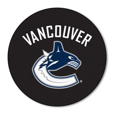 NHL Puck Doormat NHL: Vancouver Canucks
