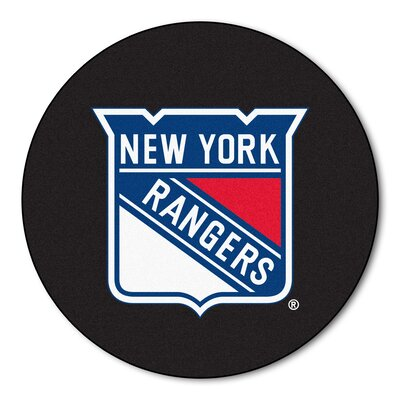 NHL - New York Rangers Puck Doormat