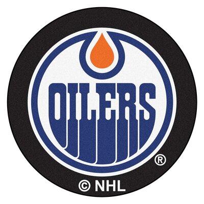 NHL Puck Doormat NHL: Edmonton Oilers