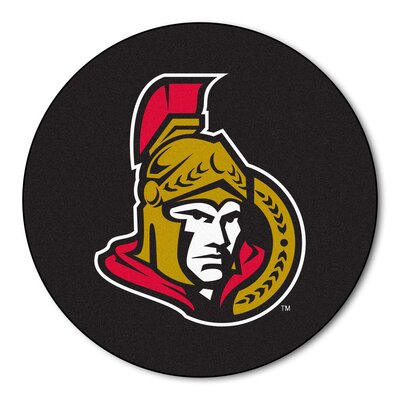 NHL Puck Doormat NHL: Ottawa Senators