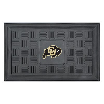 NCAA University of NCAAorado Medallion Door Mat