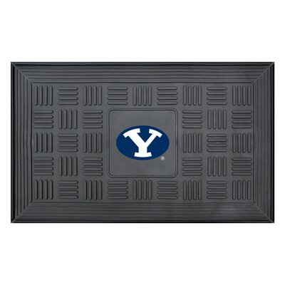 NCAA Brigham Young University Medallion Door Mat