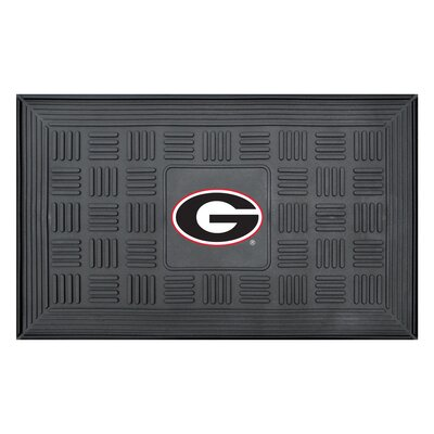 NCAA University of Georgia Medallion Door Mat