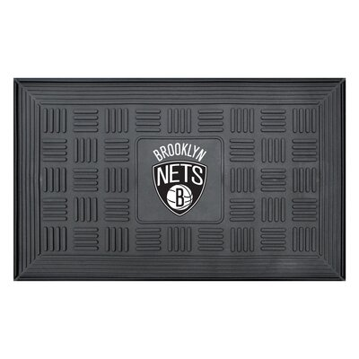 NBA - Brooklyn Nets Medallion Doormat