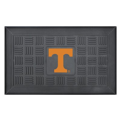 NCAA University of Tennessee Medallion Door Mat