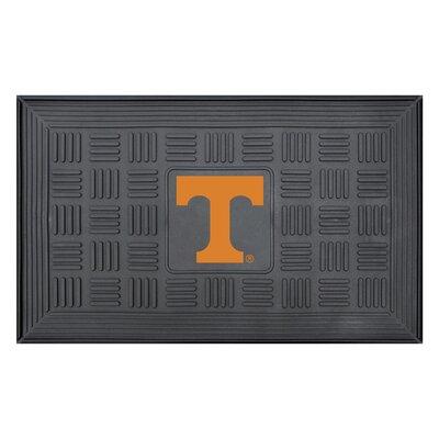 NCAA University of Tennessee Medallion Door Mat