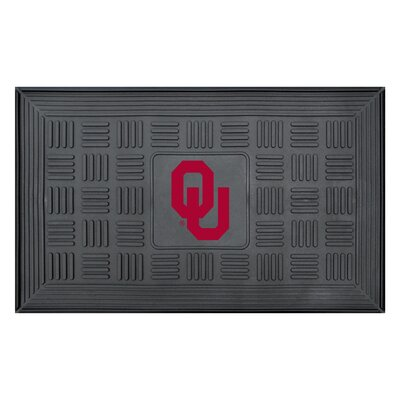 NCAA University of Oklahoma Medallion Door Mat