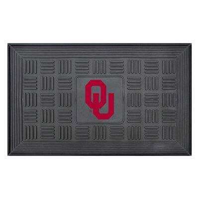 NCAA University of Oklahoma Medallion Door Mat