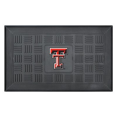 NCAA Texas Tech University Medallion Door Mat