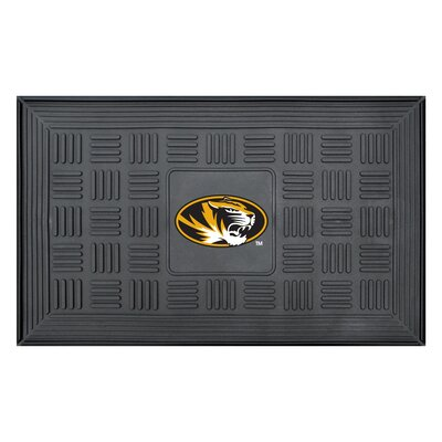 NCAA University of Missouri Medallion Door Mat