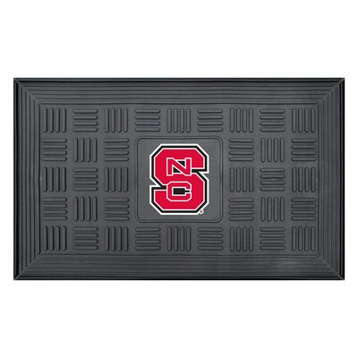 NCAA North Carolina State University Medallion Door Mat