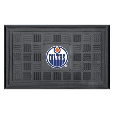 NHL - Edmonton Oilers Medallion Doormat