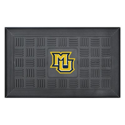 NCAA Marquette University Medallion Door Mat