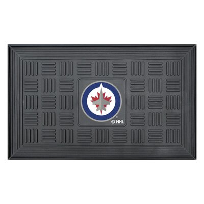 NHL - Winnipeg Jets Medallion Doormat
