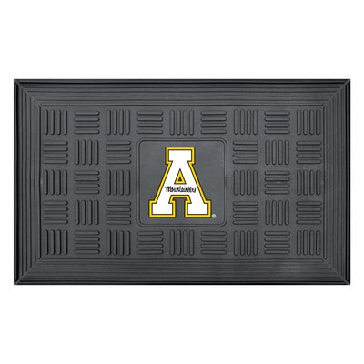 NCAA Appalachian State Medallion Door Mat