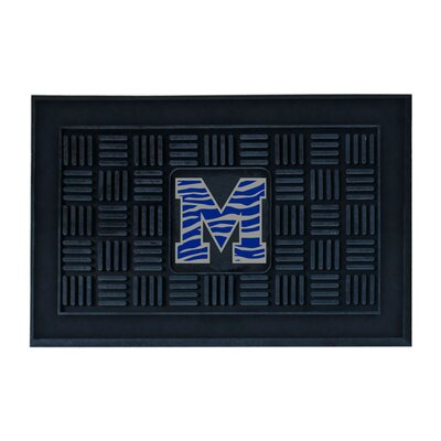NCAA University of Memphis Medallion Door Mat