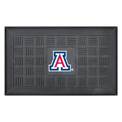 NCAA University of Arizona Medallion Door Mat