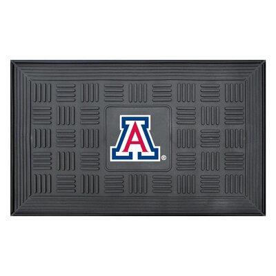 NCAA University of Arizona Medallion Door Mat