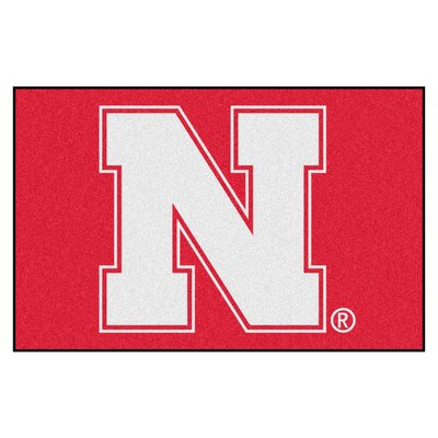 NCAA University of Nebraska Starter Mat