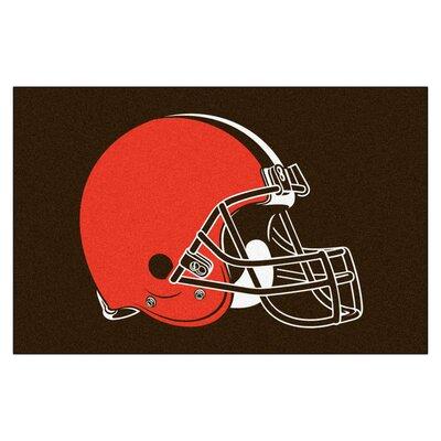 NFL - Cleveland Browns Doormat Mat Size: 18 x 26