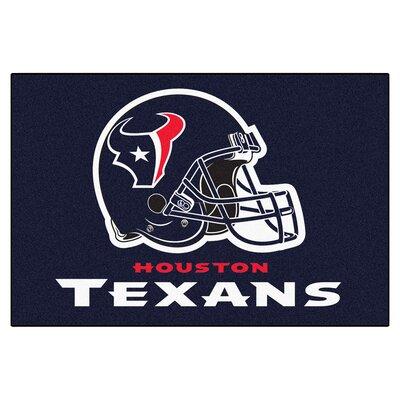 NFL - Houston Texans Doormat Rug Size: 18 x 26