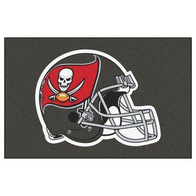 NFL - Tampa Bay Buccaneers Doormat Rug Size: 18 x 26