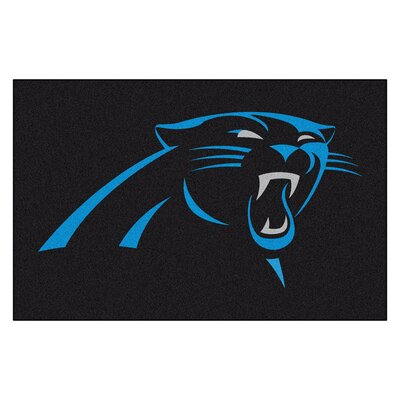 NFL - Carolina Panthers Doormat Mat Size: 18 x 26