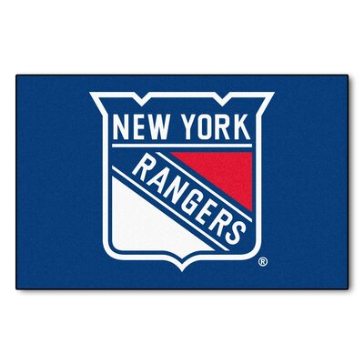 NHL - New York Rangers Tailgater Doormat Rug Size: 18 x 26