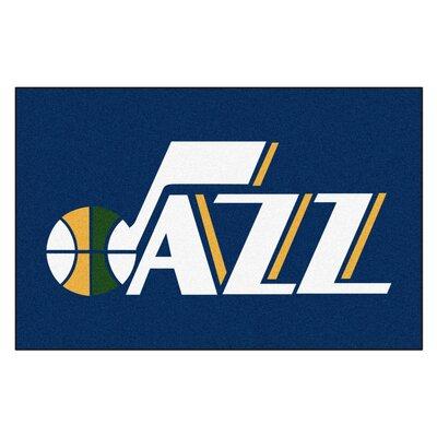 NBA - Utah Jazz Doormat Rug Size: 17 x 26