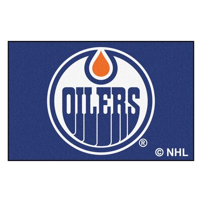 NHL - Edmonton Oilers Doormat Mat Size: 18 x 26