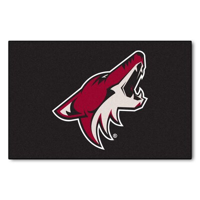 NHL - Arizona Coyotes Doormat Rug Size: 18 x 26