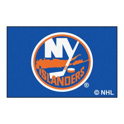 NHL - New York Islanders Doormat Rug Size: 18 x 26
