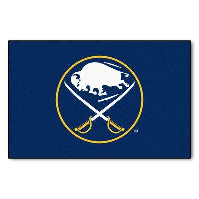 NHL - Buffalo Sabres Doormat Rug Size: 18 x 26