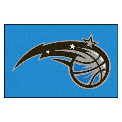 NBA - Orlando Magic Doormat Rug Size: 17 x 26