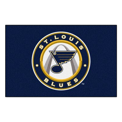 NHL - St. Louis Blues Doormat Mat Size: 18 x 26