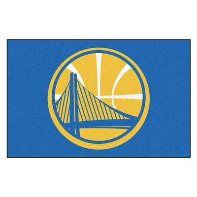 NBA - Golden State Warriors Doormat Mat Size: 17 x 26