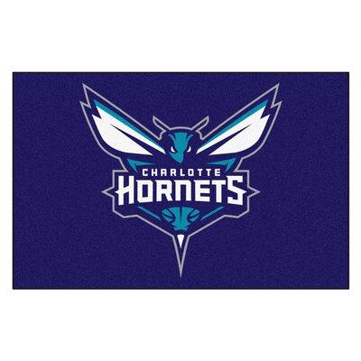 NBA - Charlotte Hornets Doormat Mat Size: 17 x 26