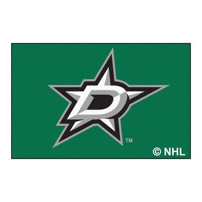 NHL - Dallas Stars Doormat Mat Size: 18 x 26