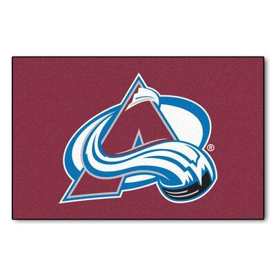 NHL - NCAAorado Avalanche Doormat Rug Size: 18 x 26