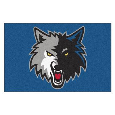 NBA - Minnesota Timberwolves Doormat Mat Size: 17 x 26