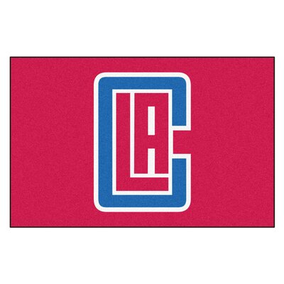 NBA - Los Angeles Clippers Doormat Mat Size: 17 x 26
