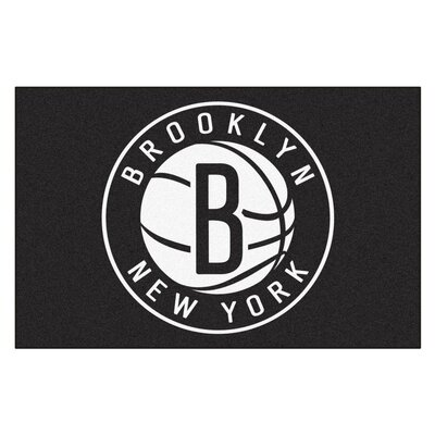 NBA - Brooklyn Nets Doormat Rug Size: 17 x 26